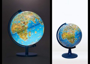 DINO'S ILLUSTRATED WORLD GLOBE
