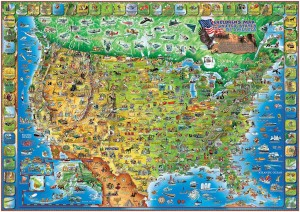 QUIZ MAP OF THE UNITED STATES OF AMERICA 54 questions and answers