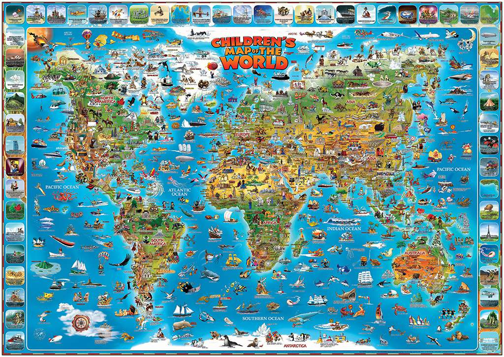 QUIZ MAP OF THE WORLD 54 Questions And Answers