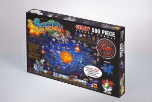 JIGSAW PUZZLE 500 PIECE - CHILDREN'S MAP OF THE SOLAR SYSTEM