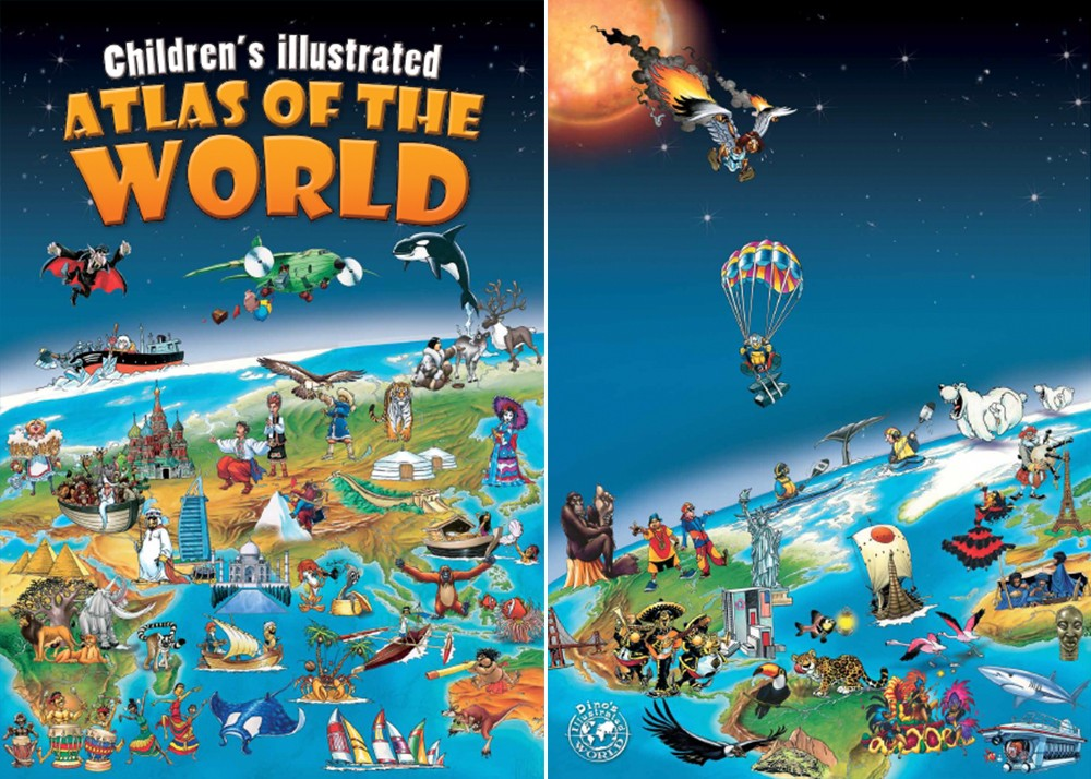 Children's Illustrated Atlas of the World