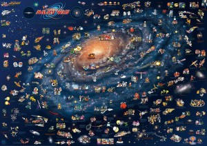 CHILDREN'S MAP OF THE MILKY WAY