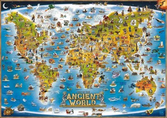 MAP OF THE ANCIENT WORLD