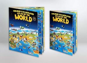 CHILDREN'S ILLUSTRATED ATLAS OF THE WORLD