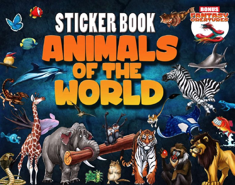 Animals Sticker Book-1